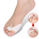 Pair Of Silicone Hallux Valgus Orthotics Toe Separators Personal Care