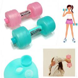 Plast Vatten Hantel Form och Fitness Banta