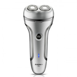 SID SA7052 Electric Rotary Shaver Rechargeable 2 Heads Razor