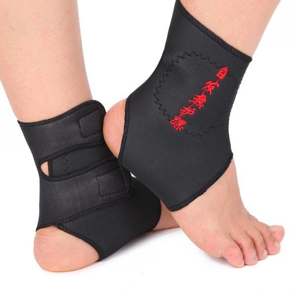 Turmalin Magnetisk Terapi Fotsfästet Massage Bälte Pad Fitness & Träningsutrustning