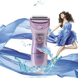 Washable Cordless Wet Dry Lady Body Shaver Hair Remover