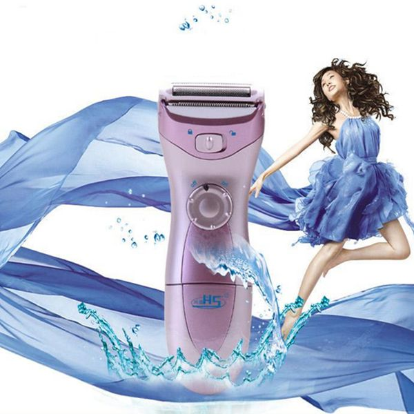 Tvättbar Cordless Wet Dry Lady Body Shaver Hair Remover Rakapparater & Trimmers