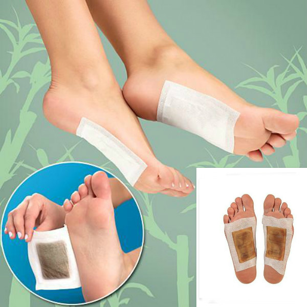 10Pcs Detox Foot Pads Detoxification Patches Skin Care