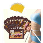 10Pcs Slim Patch Slimming Navel Weight Loss Burning Fat Detox Stick Skin Care