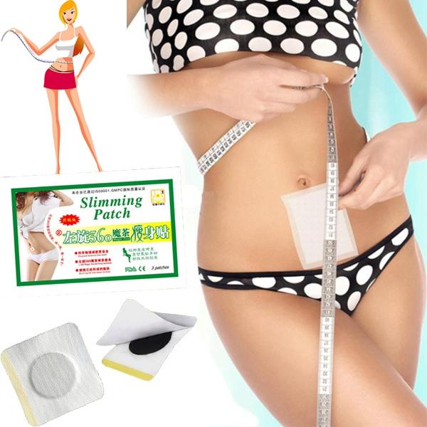 15stk Slankende Patch Vægttab Burning Fat Detox Magic Tea Sticker Hudpleje