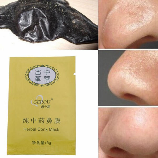 20 Pcs Herbal Deep Cleansing Nose Pores Blackheads Removal Conk Mask Skin Care