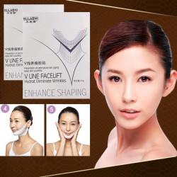 3st V Shape Lägre Ansiktslyft Ansiktsmask Super Tightess Forma Ansiktsmask