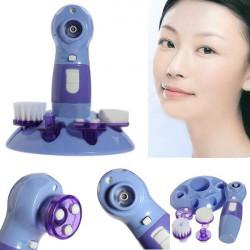 4in1 Mitesser Reinigungsmittel Gesichtsbürste Rotary Massage Scrubber