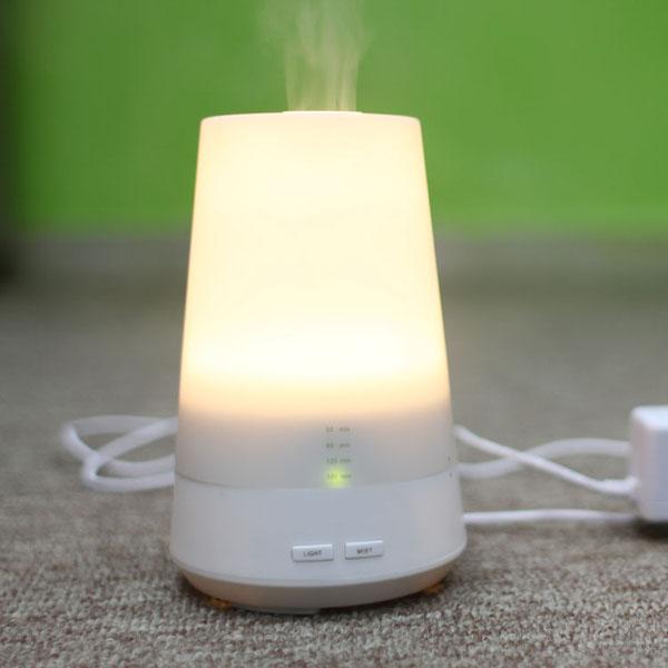 Elektrisk Aromaterapi Ultraljud Air Luftfuktare Eterisk Olja Diffusor Hudvård