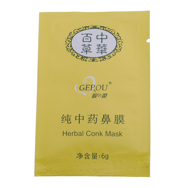 Herbal Deep Cleansing Nose Pores Blackheads Remove Conk Mask Skin Care