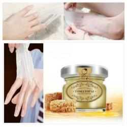Milch Honig Hand Fuß Wachsfilm 20MLSkin Whitening Peeling