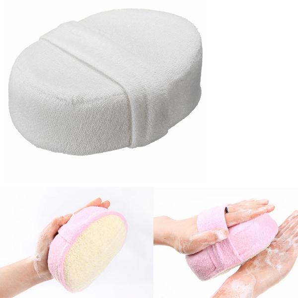 Naturlig Luffa Sponge Luffa Badkar Dusch Kropp Tvättning Skrubber Hudvård