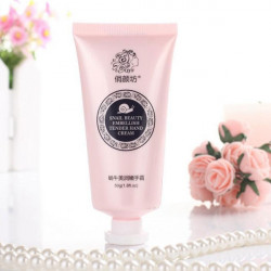 QYANF Snail Moisturizing Repair Hvidning Tender Hand Cream Lotion
