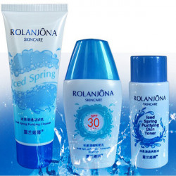 ROLANJONA Moisturizing Cleanser Skin Toner Solen Emulsion Suits