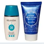 ROLANJONA Suncream Solcreme Emulsion Bedtime Iced Mask Skin Pleje Suit Hudpleje