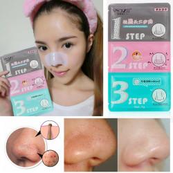 SnazⅡ Nase Pore Mitesser Beseitigung Remover Reiniger Pad 3 Schritt Kit