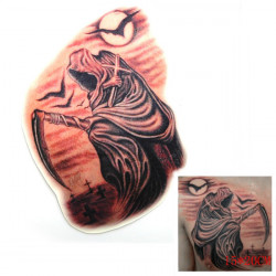3D Death Crow Waterproof Temporary Transfer Tattoo Sticker