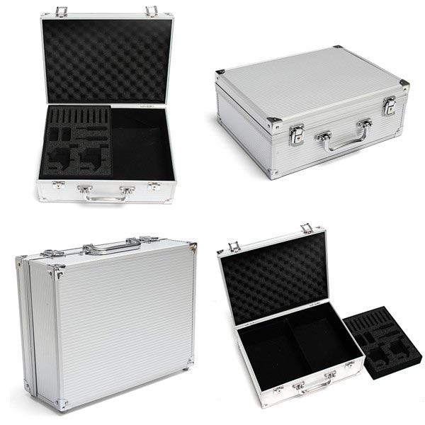 Aluminum Alloy Portable Cuboid Tatovering Bæretaske Lock Tatovering Kit Tatoveringer
