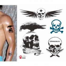 Expendables Vandtæt Midlertidig Tatovering Stickers Krop Tatovering Klistermærker