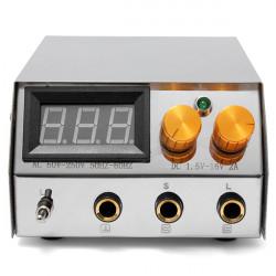 LCD Digital Dual Flat Tatovering Strømforsyning