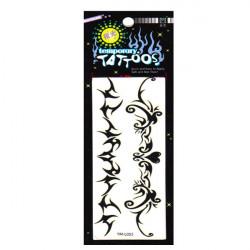 Hulmønster Design Vandtæt Midlertidig Tatovering Sticker Paper