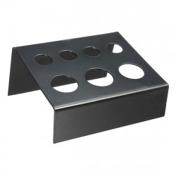 Metal 7 Holes Tattoo Ink Cap Cup Pigment Stand Holder Supply
