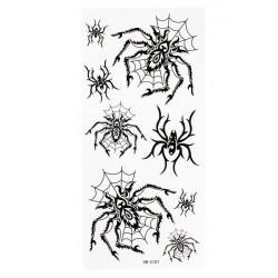 Spider Totem Design Insekt Vattentät Tillfällig Tatuering Klistermärke