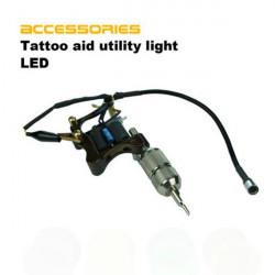 Tatovering Maskine Auxiliary LED Lampe Lys Aid Tilbehør