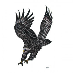 Temporäre Adler Tattoo Transfer Körper Kunst Aufkleber Wasserdicht