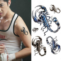 Temporary Scorpion Tattoo Transfer Body Art Sticker Waterproof