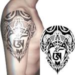 YCTF PRINTING Temporary Tibetan Tattoo Transfer Body Art Sticker Tattoos & Body Art