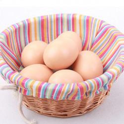 10PCS Artificial Emulation Toy Eggs DIY Painted Eggs House Decor