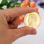 1901 Tsar Nicholas II Of Russia Gold Coin Commemorative Coins Home Decor
