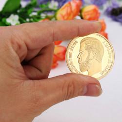 1901 Zar Nikolaus II von Russland Goldmünze Gedenkmünzen