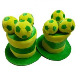 2014 Brasilien VM Hat Soccer Fan Hat Sports Hat Football Hattar
