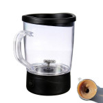 250ml Elektrisk Self Omrøring Coffee Mug Automatisk Mixing Te Cup Husholdningsapparater