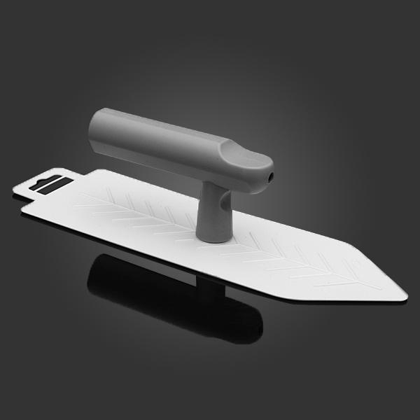 26x7.9cm Sharp Plastspatel Konst Måleriverktyg Spatel Heminredning