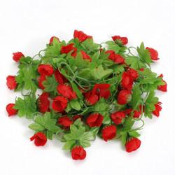 2m Artificial Flower Rose Leaf Vine Ivy Garland
