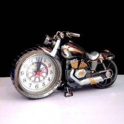 3D Home Decorative Motorcycle Plastic Clock