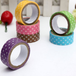 3M Japanske Dot Printing Dekorative Washi Tape DIY Sticker