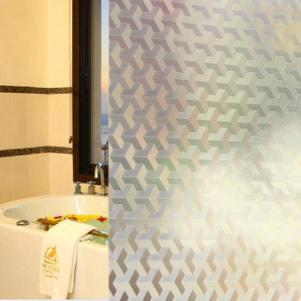 45x100cm Dimensional Leiter Glas Fenster Aufkleber entfernbare Haus Dekoration