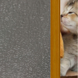 45x100cm Droplet Pattern Sliding Door Glass Window Sticker Removable