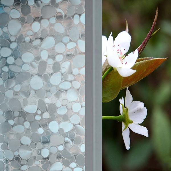 45x100cm Kiesel Schiebetür Glas Fenster Aufkleber entfernbare Haus Dekoration