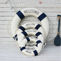 4 Storlek Blå Medelhavet Stil Dekorativ Livboj
