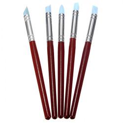 5stk Radierstift Shaping Skulptur Ton Schnitzwerkzeuge