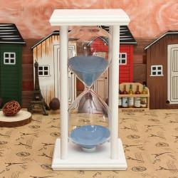 60 Minutes Træ Ramme Sandglass Timeglas Sand Timer Hjem Decor