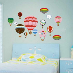 70*50CM Reuse Bicycle Frog PVC Wall Sticker DM5774