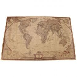 71 * 46.5cm Brown Paper Antike Weltkarte Wand Diagramm Plakat
