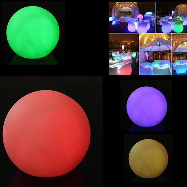 7 Color Changing Night Light Decoration Round Ball Shaped Light Home Decor