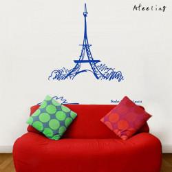 90 * 93 Home Decoration Eiffelturm Wand Aufkleber